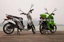 125cc gas scooter CE/EEC high speed long range two wheel hub motor electric scooter with pedals for sale