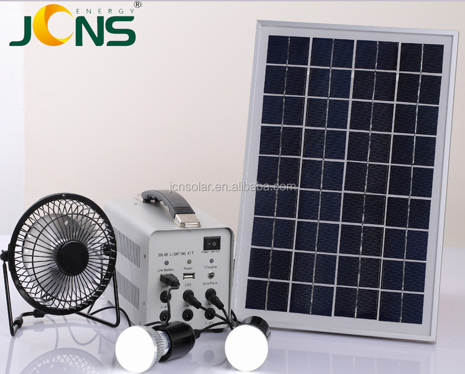 China Manufacture NEW ENERGY Storage 100 watt Solar Power Kit for Home & Camping