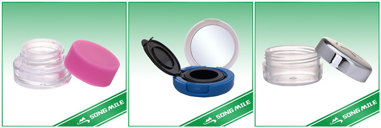 Plastic blue flip top cap for shampoo and shower gel bottles