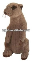 wild world animals plush toys 30cm standing meerkat soft toys