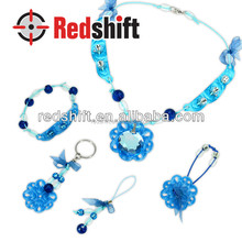 OEM Fashion jewelry set Make your stone jewellery Sapphire