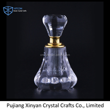 Wholesale cheap custom crystal perfume bottle for wedding favor
