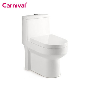 Bathroom siphonic american standard one piece cupc toilet
