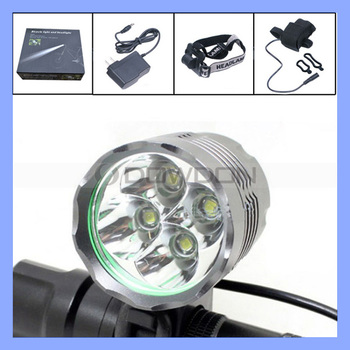 4800 Lumen 4 Cree XM-L T6 3 Modes LED Bicycle Light Lamp