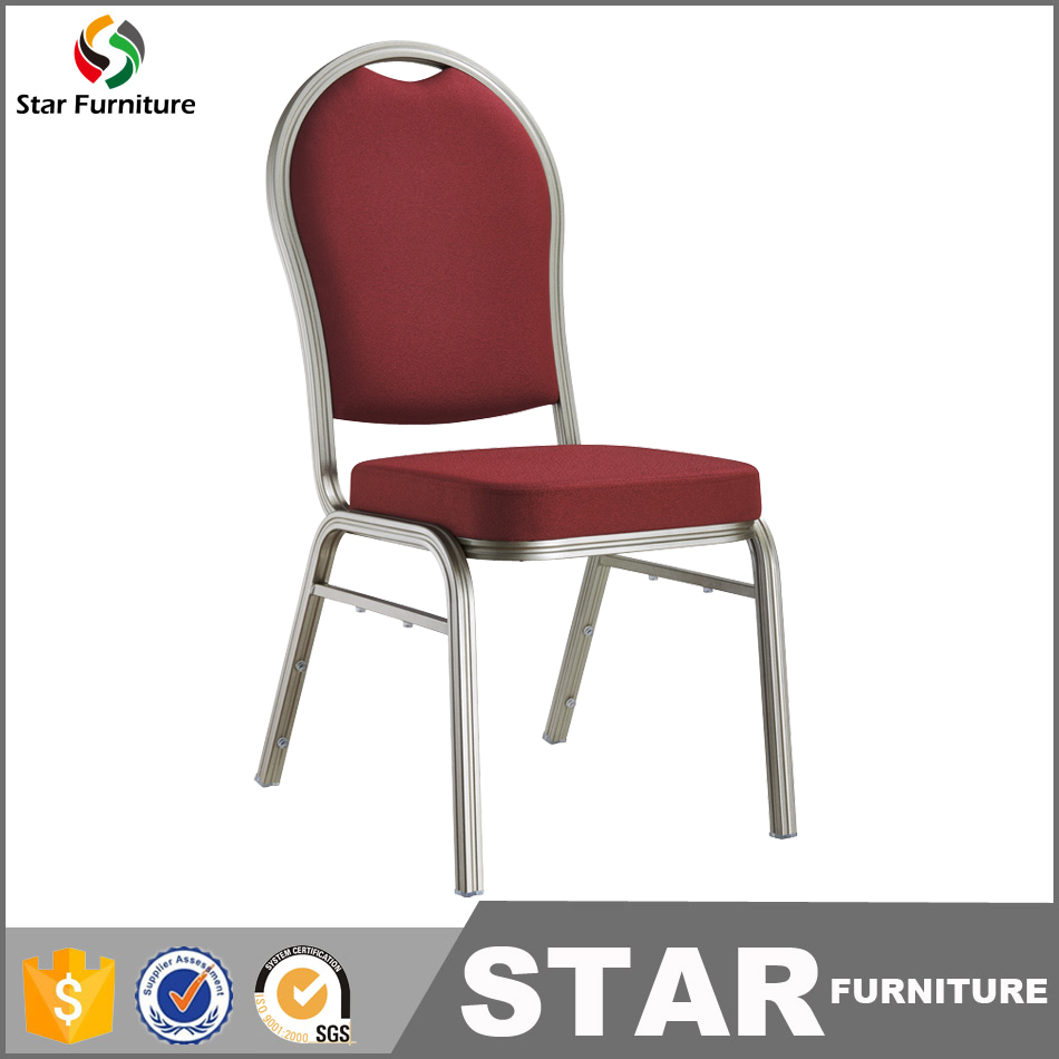 Modern Ued stackable Metal Banquet Chair Used In Banquet hall