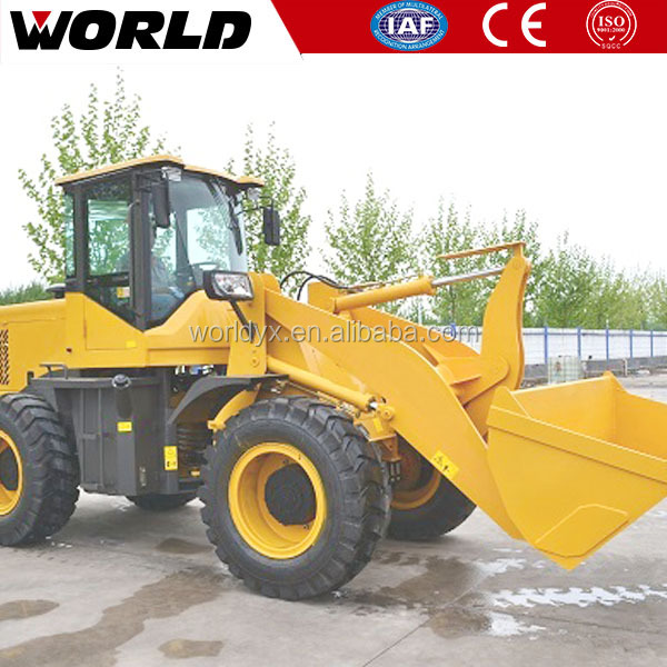 Construction Machine 2Ton Small Wheel Loader with Ce