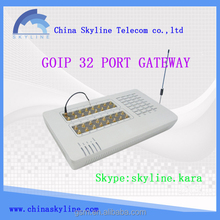 Hot 32 port gsm/cdma/wcdma goip gateway/voip providers international free unlimited voip calls