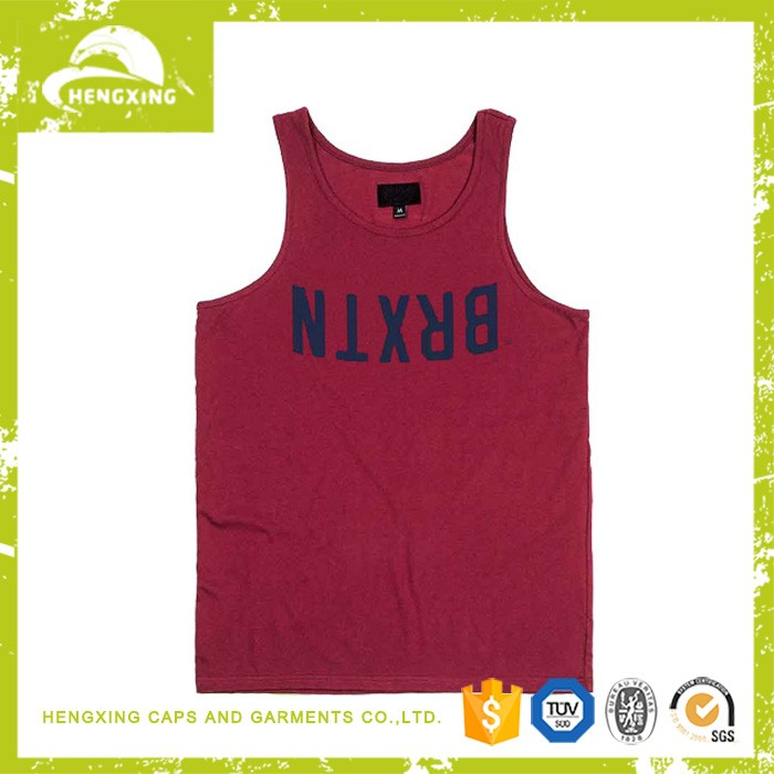 wholesale custom mens tank top