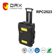 Everest Wheeled Hard Plastic Case with foam for Electronics, Equipment, Cameras, Tools, Drones