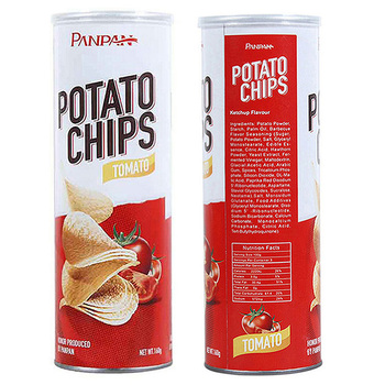 Panpan brand of barbecue potato chips for sale
