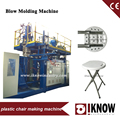 plastic seat folding chair table desk blow molding machine