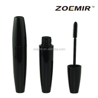 Black empty Cosmetic Eyelash tube pregnant mascara container with brush