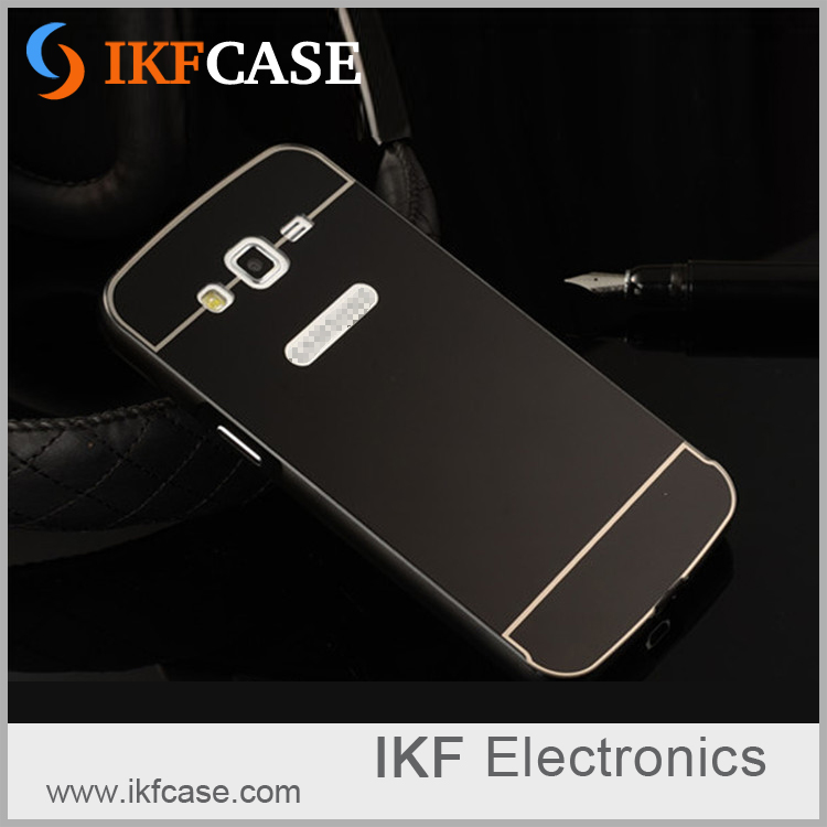 Phone Accessories Wholesale Custom Back Metal Aluminium Bumper Plastic Case For Samsung Galaxy Grand 2 G7106