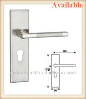 Wholesale zinc alloy doors locks covers plates for interior and exterior mechanical lockset