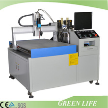 Customized non-standard type automatic lamp silicone sealant machine