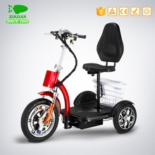 3 wheels electric tricycle car for 2 person