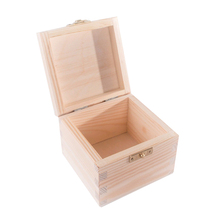 Unfinished small wooden boxes wholesale with lids