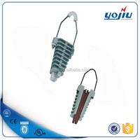 Cable fitting NXJ Aluminium Wedge type wire tension clamp for fixing insulation conductor/Anchor Clamp/Strain Clamp