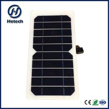 Factory direct low price mono 5W Flexible Solar Panels for sale