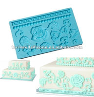 cake decoration silicone fondant mould