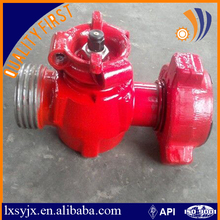 "China Longxin Manufacturer Plug cock valve with 2"" 1502 union connection"