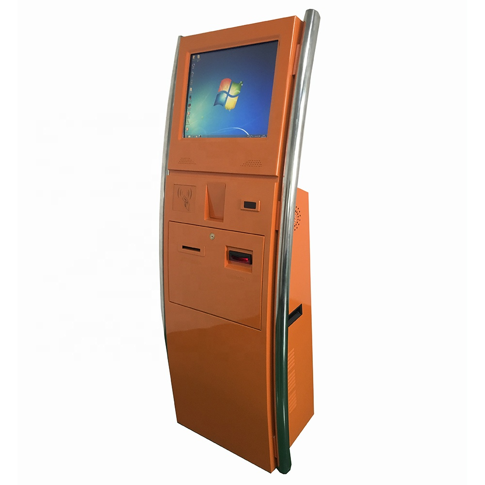 Best discount with bill acceptor, printer, scanner and card reader touch screen multifunction self <strong>payment</strong> kiosk