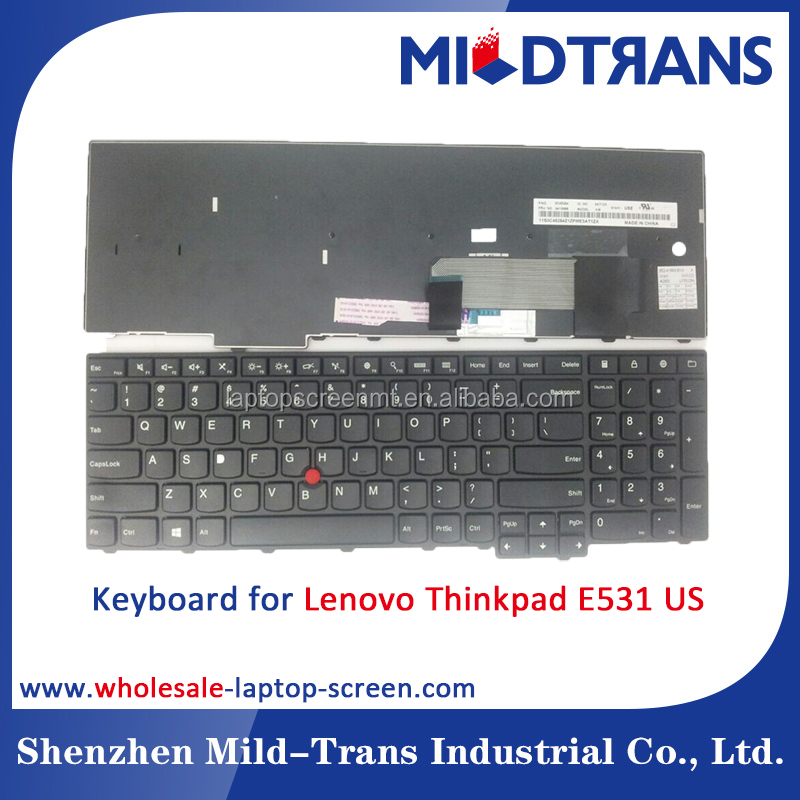 SP US UK FR layout for Lenovo Thinkpad E531 laptop keyboard