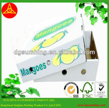 Custom Fruit Boxes Corrugated Boxes packing karton shipping fruit box