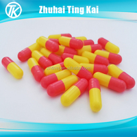 Red/Yellow Gelatin Empty Capsules 1