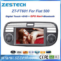 ZESTECH 2 din car autoradio for fiat 500 car radio dvd car multimedia system head units auto parts gps navi