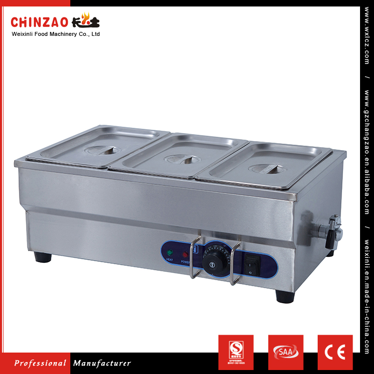 CHINZAO Alibaba Demand Products CE Kitchen Cooking Equipment Commercial Bain Marie For Electric