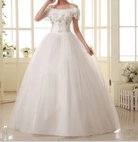 2014 hot fashion princess lace up bridal dress sexy apparel the style formal wedding dress
