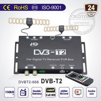 hd mpeg4 car dvb-t receiver with sd with Double Antenna,1080P HD,PVR,High Speed120km/h