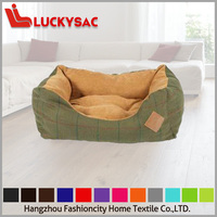 lucite acrylic cozy cave dog bed