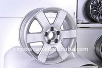 ISO TS16949 VIA JWL certificate Silver color painting Japan car Size 15x6.5 PCD 5x100 Replica wheel rim