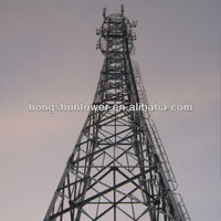 Galvanized Angle Steel Tower In Telecommunication