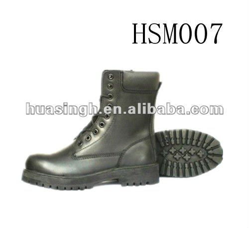 7 inch lightweight anti-slip brand outsole warrior anti-smashing army shoes/booots