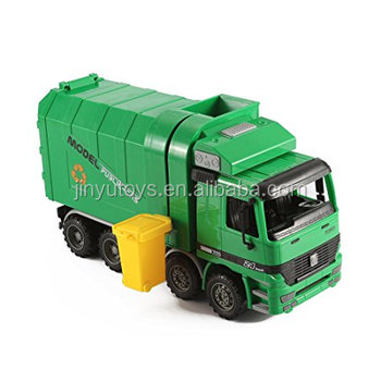 Friction  Garbage Truck  toy Trash Cans cleaning truck