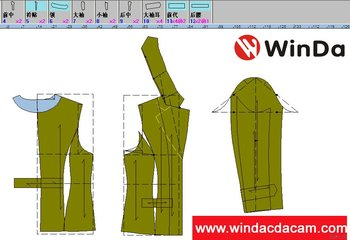 winda apparel cad software