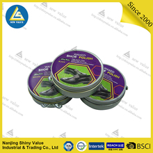 shoe polish for cleaning /tin box/multiple color /Waterproof
