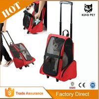 Pet / Dog Travel Carrier Backpack with Wheels