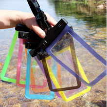 waterproof cell phone bag/plastic mobile phone waterproof bag for adult