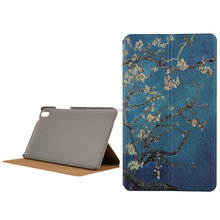 "Flip Leather Colorful Pattern Shell Cover for 8"" Tablet Huawei Case for huawei honor case 8.0inch"