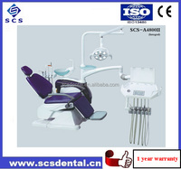 Ajustable Head Rest Dental Unit with panoramic film viewer