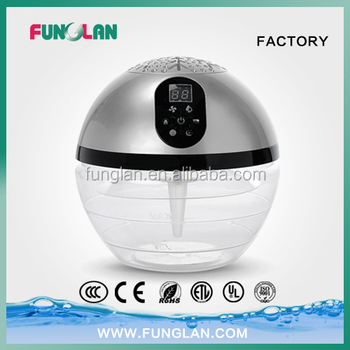 new product portable air ionizer freshener washer with led screen touch panel remote control EXCLUSIVE