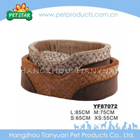 Flat and Comfortable detachable hamburger pet house/dog beds/cat beds
