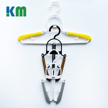 New Stylish Boutique Infant Toddler Turnable Plastic Folding Clothes Hanger