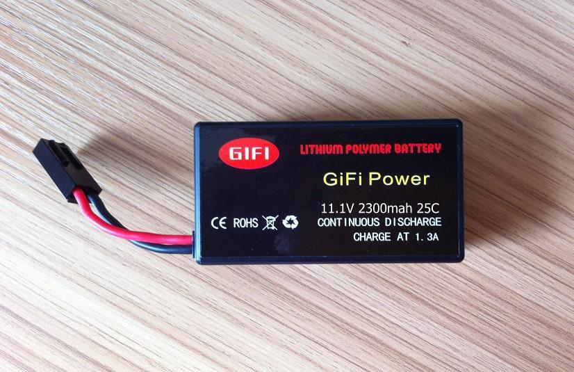 GiFi Battery 2300mah For Parrot ar.drone 2.0&Power Edition