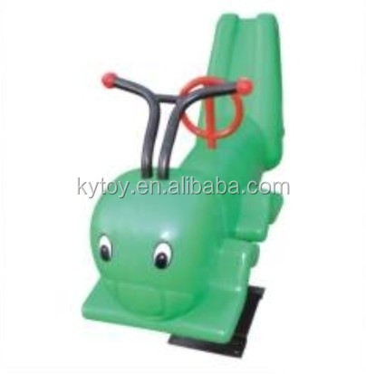 Kids wonder horse spring rocking horse with handle