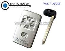 Replacement Car Key For Toyota keyless Entry Smart Remote Key Shell Case 5B